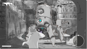 """This sole piece of concept art is as close to gameplay as we've seen of Red Ash."""