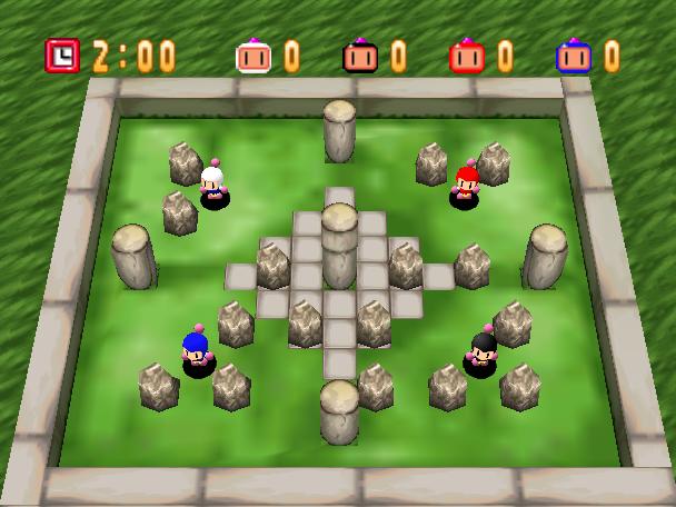 [Análise Retro Game] - Bomberman 64 - Nintendo 64 Rockgarden