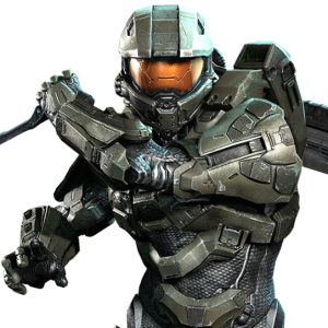 """Take it easy, Master Chief! You're still cool!"""