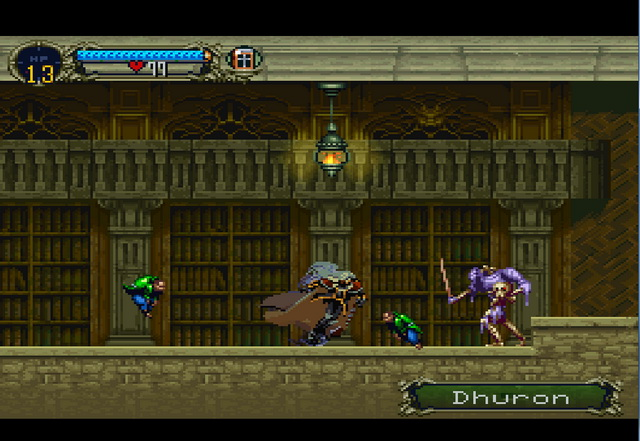castlevania symphony of the night emulator settings