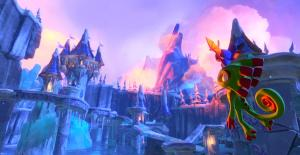 """""""Yooka and Laylee arrive in Arendelle."""""""