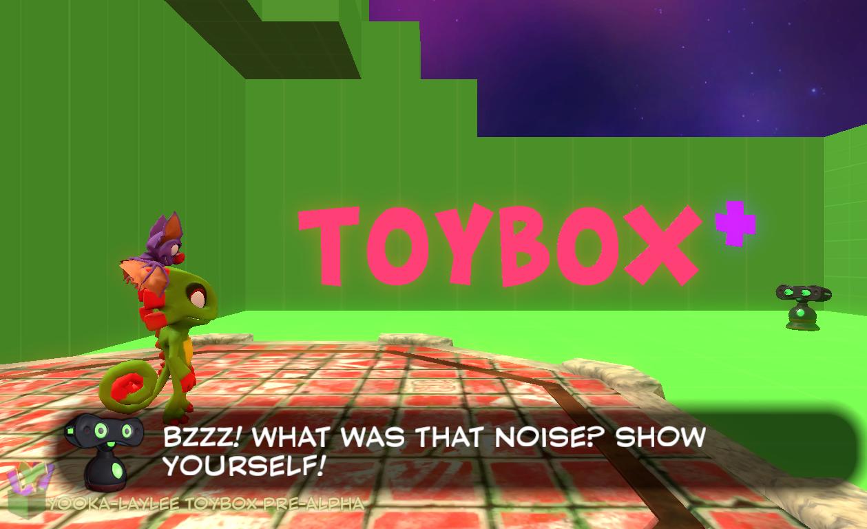 Yooka Laylee Toybox Thoughts Wizard Dojo Ps4