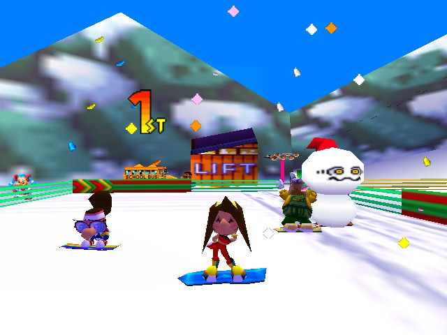 Snowboard Kids 2 Review Wizard Dojo