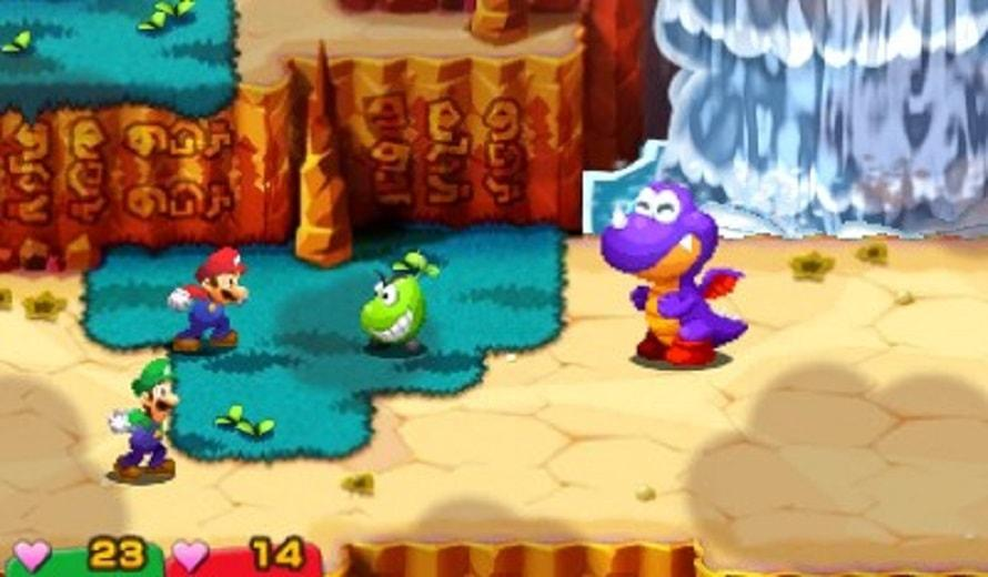 Mario Luigi Paper Jam Wizard Dojo