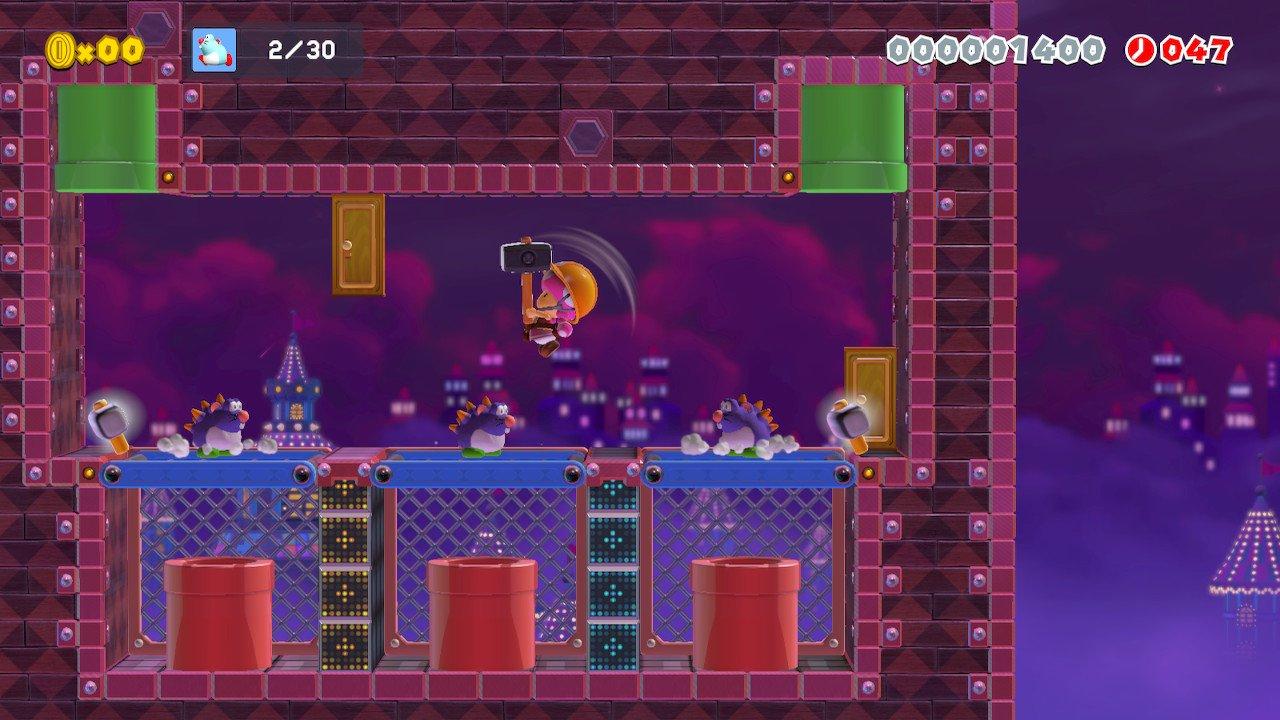 Super Mario Maker 2 – Wizard Dojo